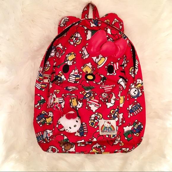 eeecf2634b Hello Kitty Handbags - Hello Kitty Backpack with Bow and Ears